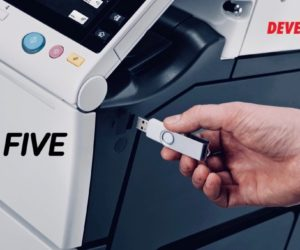 Bezpieczeństwo wydruku DEVELOP